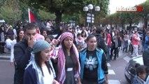 Aulnay-sous-Bois : manifestation dans le calme en soutien aux Palestiniens