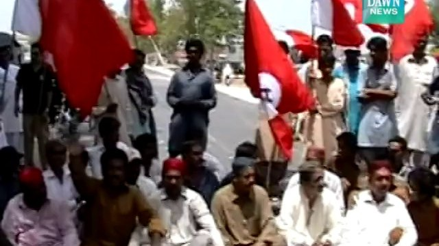 Strike observed in Interior Sindh to protest arrival of IDPs
