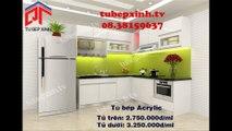 Tủ bếp, tủ bếp MFC, tủ bếp Acrylic với nhiều thiết kế hiện đại tại Tủ Bếp Xinh 08.38159637