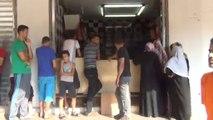Gaza : au moins 100.000 déplacés à la recherche d'abris (réalisée par Benjamin Chauvin et Mathilde Lemaire)