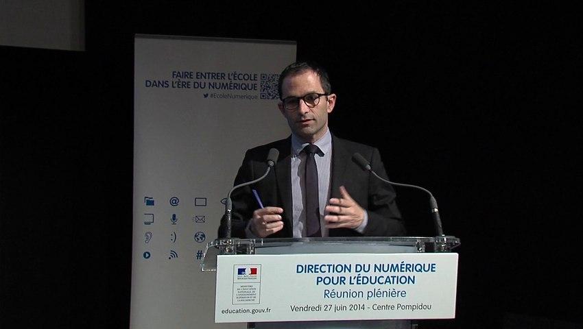 [ARCHIVE] [École numérique] Intervention de Benoît Hamon dans le cadre du premier séminaire de la Direction du Numérique pour l'Éducation, vendredi 27 juin 2014