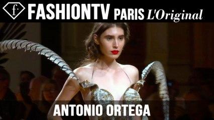 Antonio Ortega Haute Couture Fall/Winter 2014-15 | Paris Couture Fashion Week | FashionTV