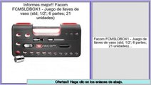 ofertas Facom FCMSLDBOX1 - Juego de llaves de vaso (std; 1/2'; 6 partes; 21 unidades)