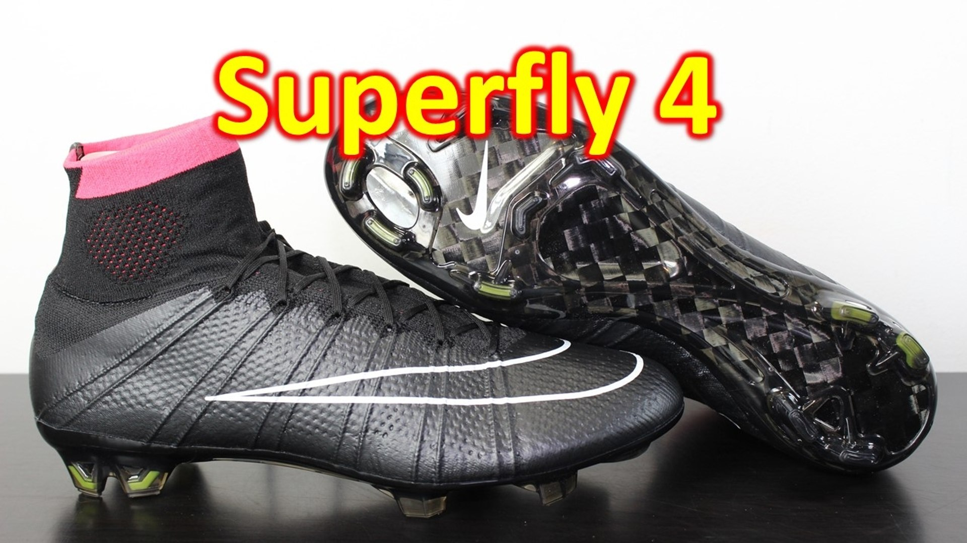 factory authentic cfb6f 1672f Nike Mercurial Superfly 4 Stealth Pack Unboxing & On Feet