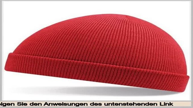 """Online Shopping """"Beechfield Kids Acrylic Knitted Hat, Classic Red,"""" One Size"""""""""""""""