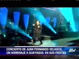 Juan Fernando Velasco le quiere cantar a Guayaquil en dos conciertos