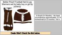 Best Price Football Hat & Leg Warmers set for baby boy or girl by juDanzy