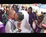 Strange Wedding of 9 year old Groom & 61 year old Bride