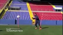 L'entraînement incroyable de Keylor Navas