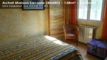 A vendre - Maison/villa - Lacoste (84480) - 4 pièces - 138m²
