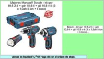 Los m�s vendidos Bosch - kit gsr 10;8-2-li + gdr 10;8-li + gli 10;8 v-li (3 x 1;3ah li-ion + l-boxx)