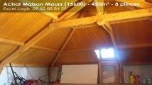 A vendre - Maison/villa - Maurs (15600) - 8 pièces - 420m²