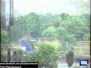 Heavy Showers Bring Temperatures Down In Rawalpindi And Islamabad