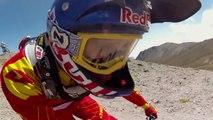 Descendre un volcan en VTT... Rider Mountainbike Red Bull!