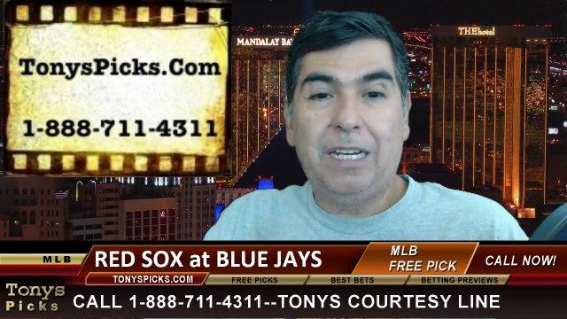 MLB Pick Prediction Toronto Blue Jays vs. Boston Red Sox Odds Preview 7-24-2014
