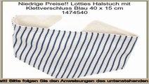 Schn�ppchen Lotties Halstuch mit Klettverschluss Blau 40 x 15 cm 1474540