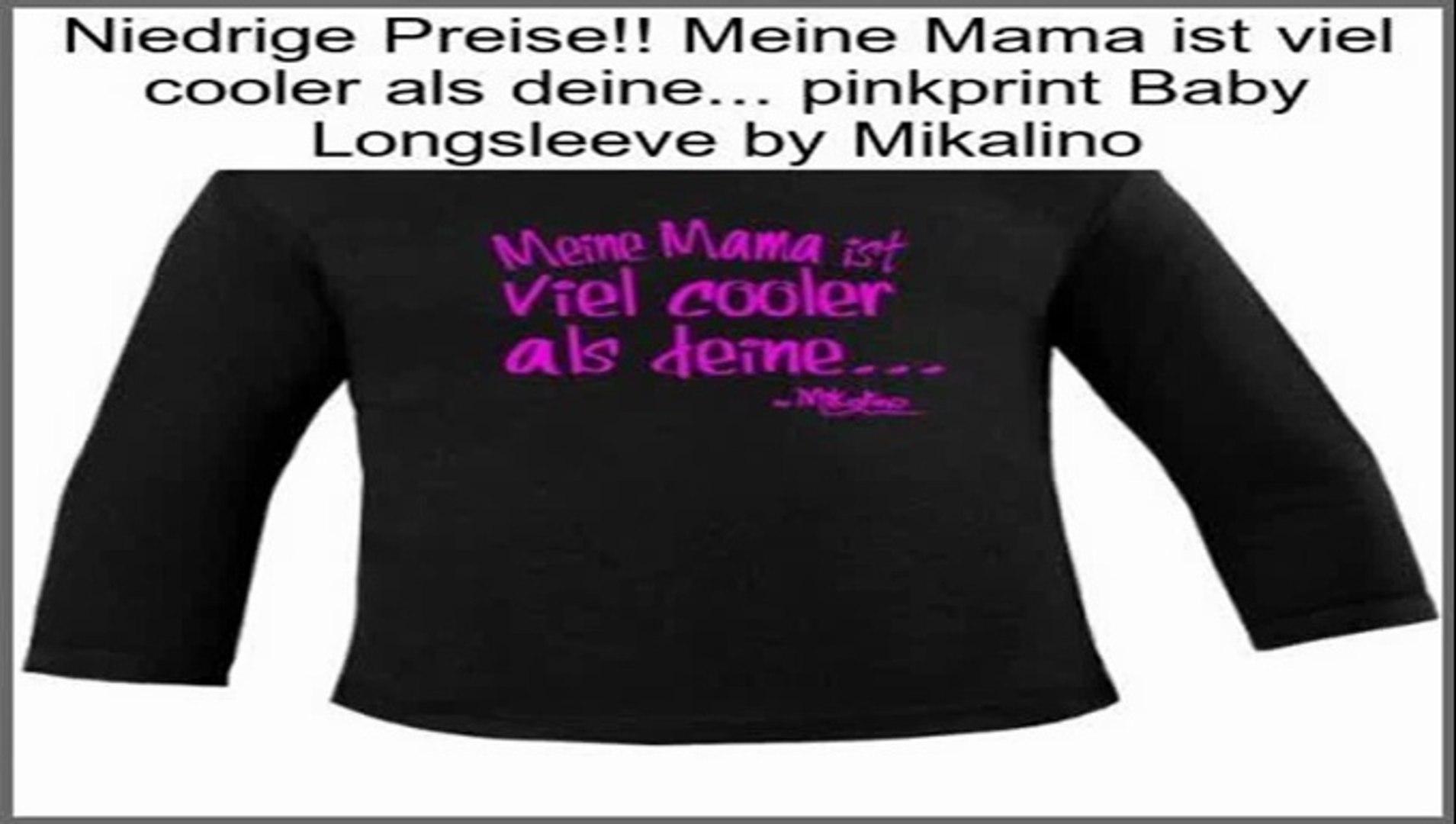 Mikalino Meine Tante ist viel cooler als deine weissprint Baby Longsleeve by