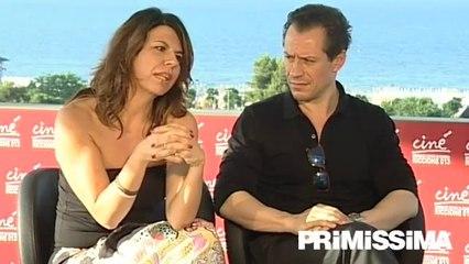 Video intervista a Stefano Accorsi e Geppi Cucciari per il film L'arbitro