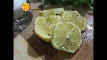 عصير الليمون والنعناع الطازج و المنعش