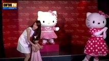 Helloy Kitty fait son entrée au musée Madame Tussauds de Hong Kong - 25_07_(360p)