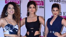 Parineeti Chopra,Shilpa Shetty,Kangana Ranaut At VOGUE Beauty Awards