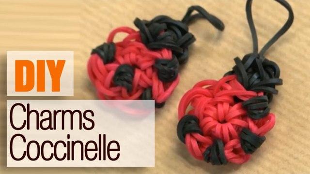 Le Charms coccinelle Rainbow Loom - Tuto DIY accessoire