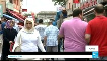 TURKEY / SYRIA - Many Turks angry over Syrian refugee situation