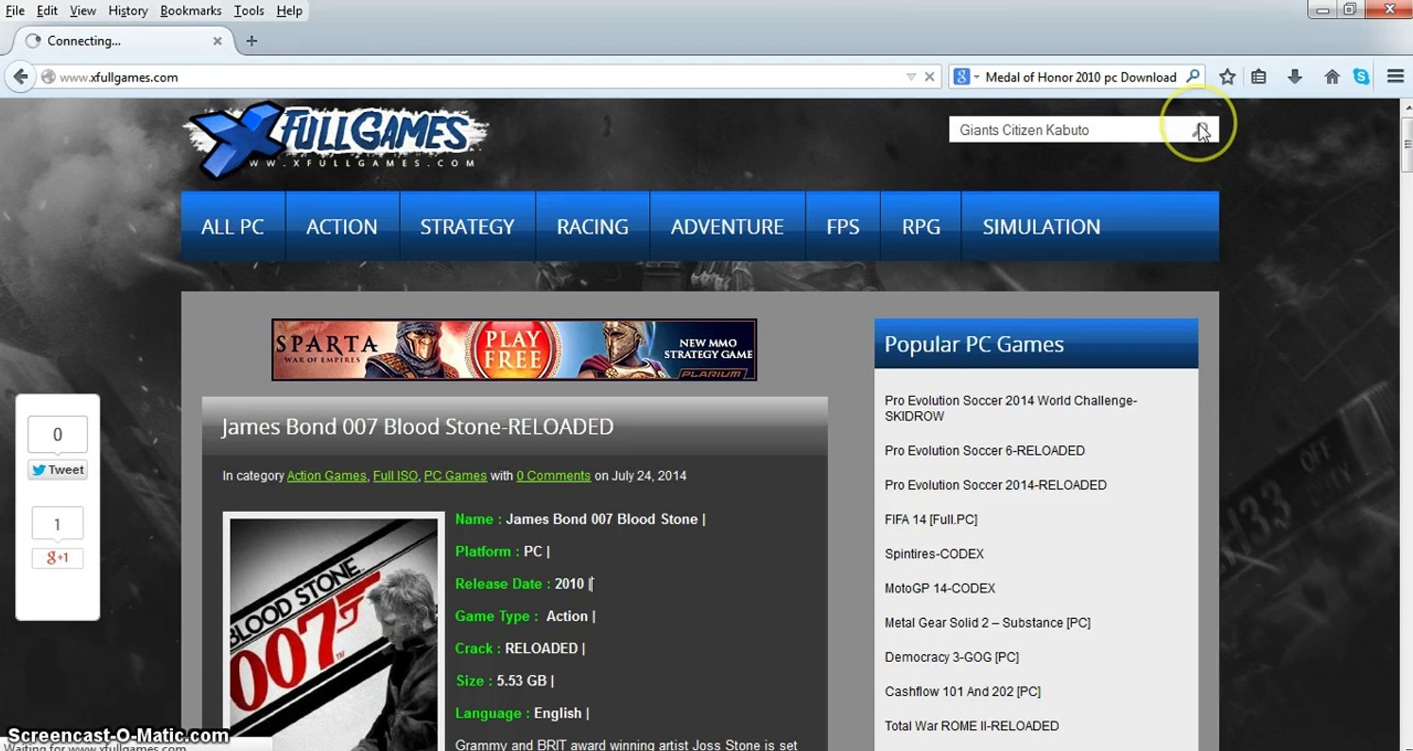 Free Download Giants Citizen Kabuto Game Full PC