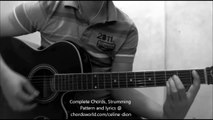 Somebody Loves Somebody Chords by Celine Dion - How To Play - chordsworld.com