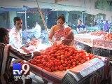 Tomato Prices Skyrocket to Rs.100 Per Kg, Bharuch & Sabarkantha - Tv9 Gujarati