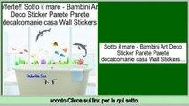 efficiente Sotto il mare - Bambini Art Deco Sticker Parete Parete decalcomanie casa Wall Stickers