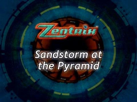 Jikuu Boukenki Zentrix #05 - Sandstorm at the Pyramid