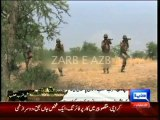 Dunya news-Over 500 terrorists killed, 34 soldiers martyred during Zarb-e-Azb: report