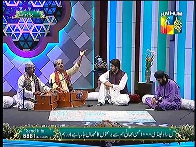 Abu Muhammad - Fareed Ayaz Qawal 2 at Jashn e Ramazan Live 26  Iftar Transmissio