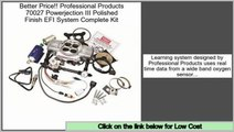 Reviews And Ratings Professional Products 70027 Powerjection III Polished Finish EFI System Complete Kit