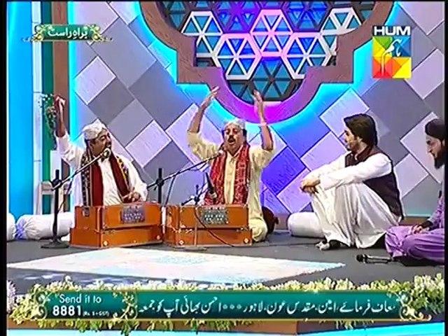 Abu Muhammad - Fareed Ayaz Qawal at Jashn e Ramazan Live 26  Iftar Transmission