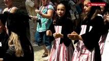 Quimper. Festival de Cornouaille : les enfants défilent !