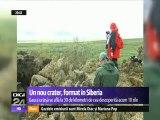 Un nou crater misterios a apărut în Siberia. Misterul craterelor uriaşe descoperite în Siberia e departe de a fi lămurit