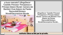 il miglior prezzo!migliore UfingoDecor 'Castello Princess' Principessa e Principe Adesivi Murali; Camera dei Bambini Vivai Adesivi da Parete Removibili/Stickers Murali/Decorazione Murale