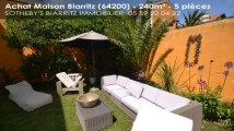 A vendre - maison - Biarritz (64200) - 5 pièces - 240m²