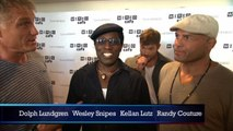 Kellan Lutz Biting His Nails At  'Expendables 3' Comic-Con Interview