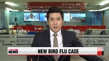 Officials in Jeollanam-do province confirm new case of bird flu