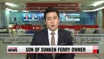Prosecutors seeking arrest warrant for son of sunken ferry owner