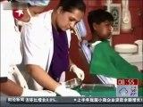 232 dents retiré de la bouche d'un garçon en Inde