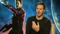 Guardians of the Galaxy: Chris Pratt on being dorky