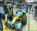 GP USA, Indianapolis 2005 Ritiro delle vetture gommate Michelin