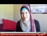 A Girl Telling Amazing Story of Converting To Islam From Christianity 22