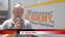 Interview // Sylvain Noel - Le Mans : 7ème de la course d'ouverture des 24 Heures du Mans