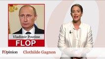 Le Top : Laurent Grandguillaume / Le Flop: Vladimir Poutine