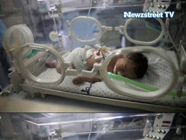 Miracle baby born from dead mother's body